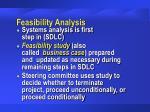 feasibility analysis25