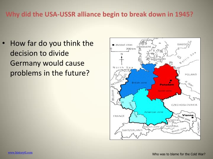 who was to blame for the cold Who is most to blame for the cold war the war was inevitable because the fight to rule th eworld between two countries with deep ideology gulf is cold war was originated by churchill, not usa, not ussr uk push usa to become leader of cold war (put usa to the position of west world leader at.
