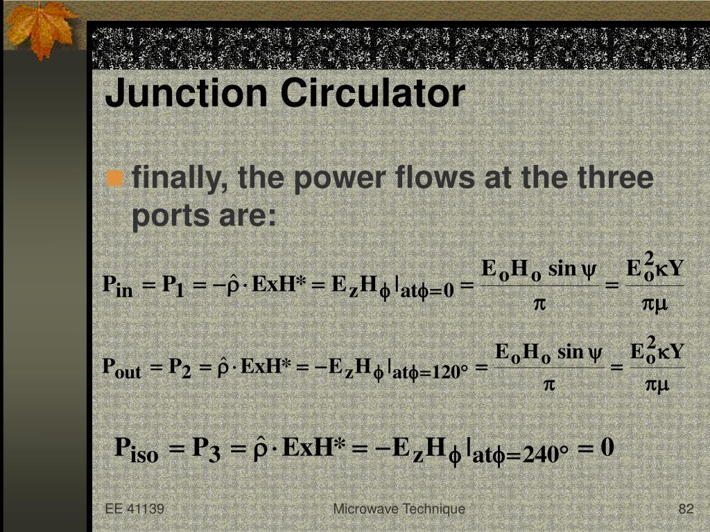 Junction Circulator