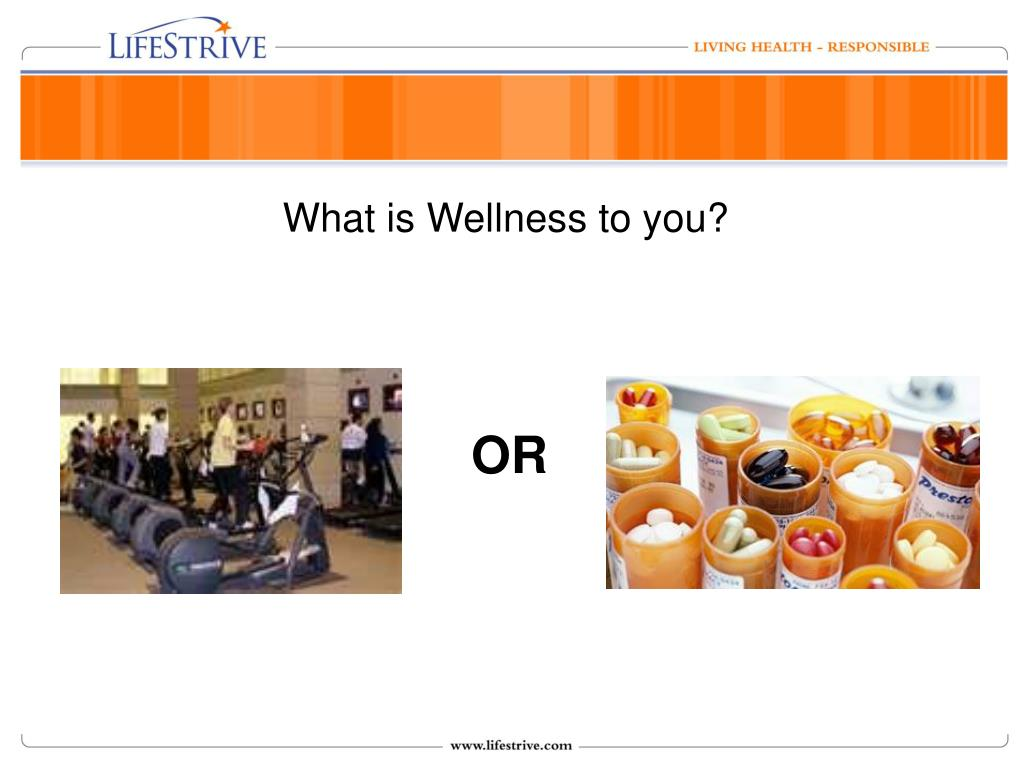 What is Wellness to you?