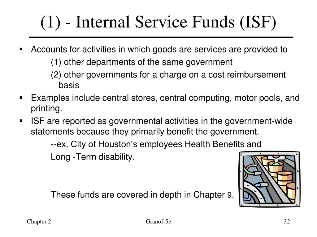 (1) - Internal Service Funds (ISF)