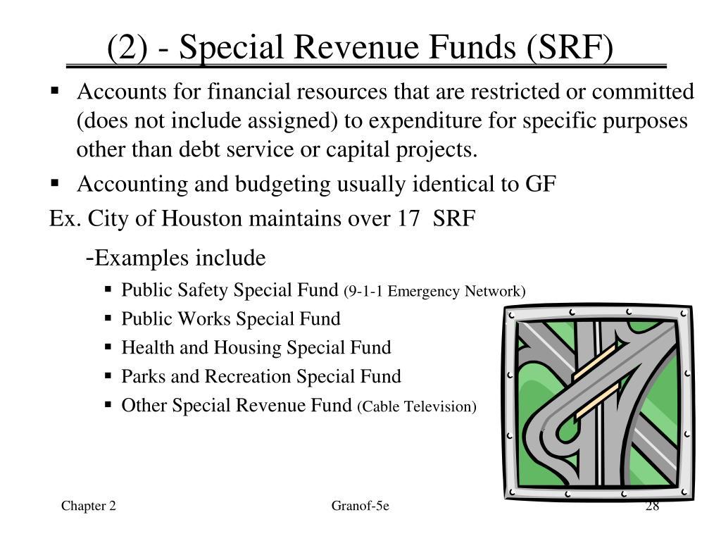 (2) - Special Revenue Funds (SRF)