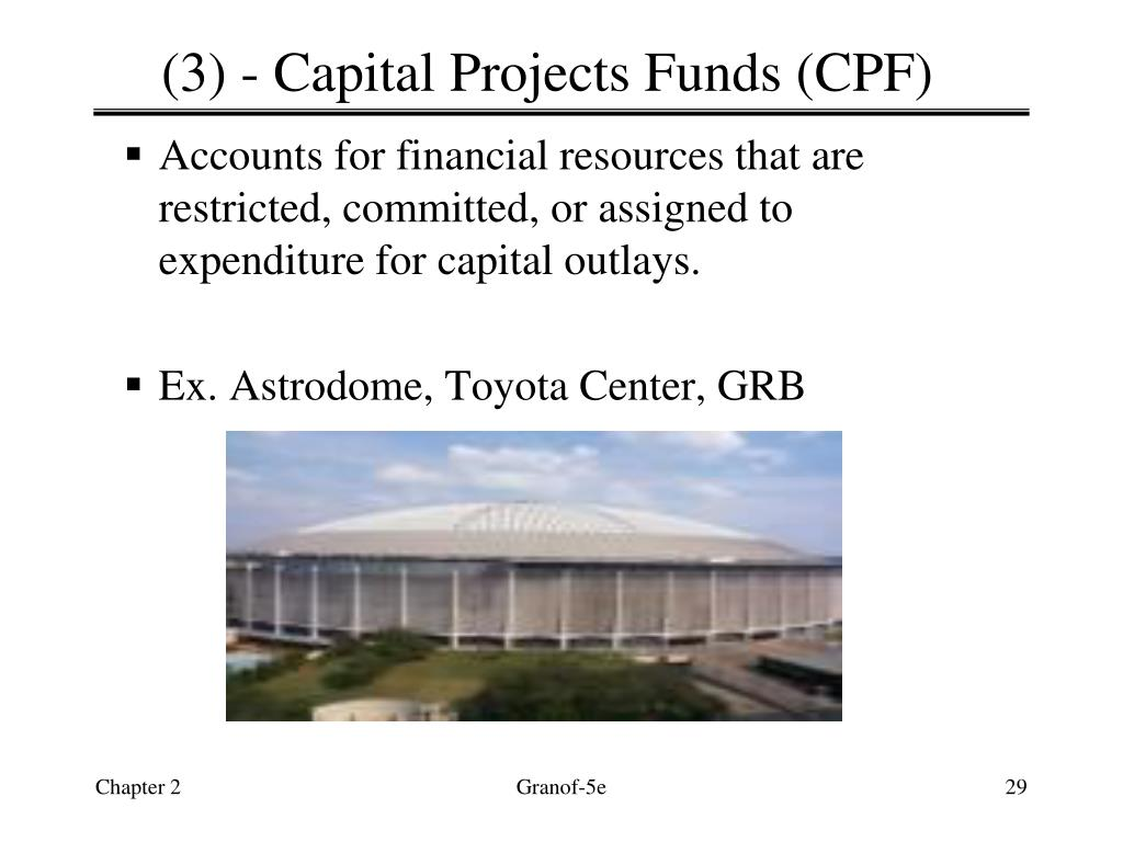 (3) - Capital Projects Funds (CPF)