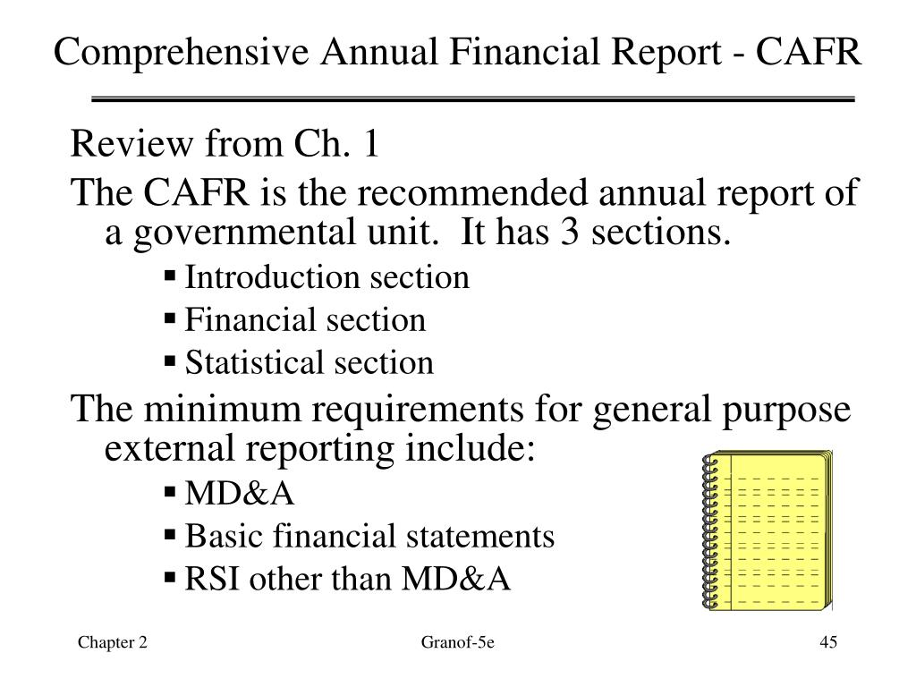 Comprehensive Annual Financial Report - CAFR
