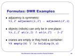 formulas dwr examples