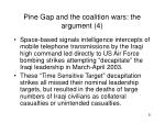 pine gap and the coalition wars the argument 4