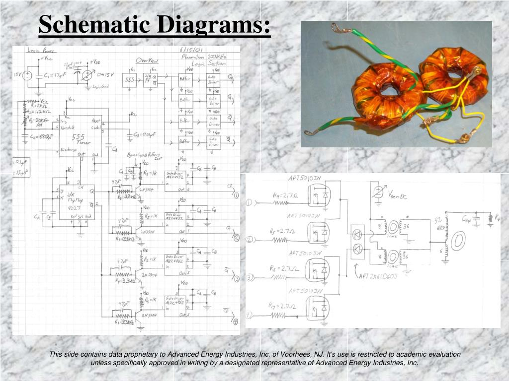 Schematic Diagrams: