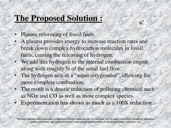 The Proposed Solution :