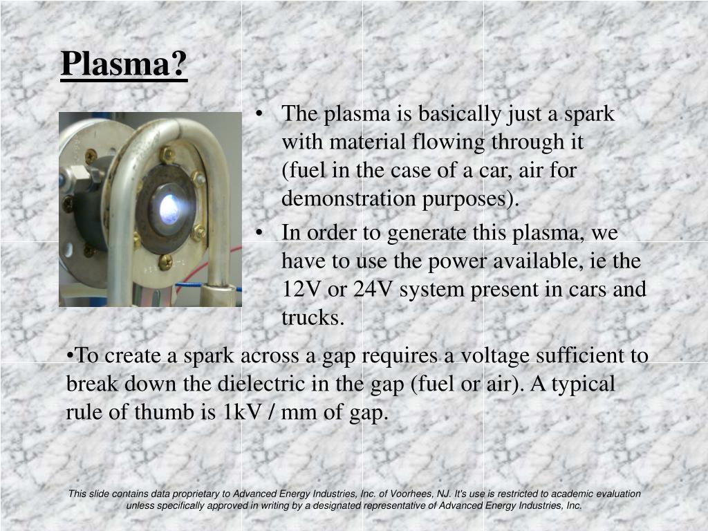 Plasma?