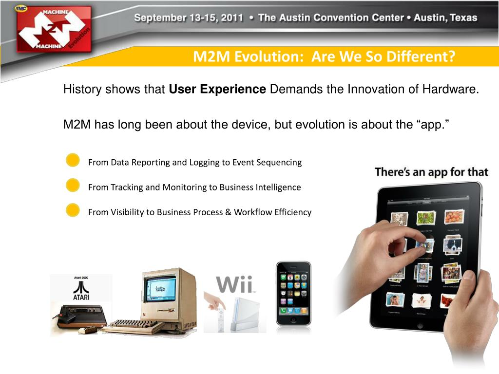 M2M Evolution:  Are We So Different?