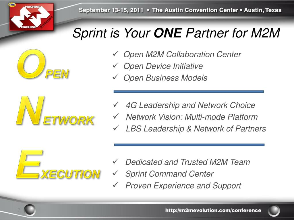 Sprint is Your