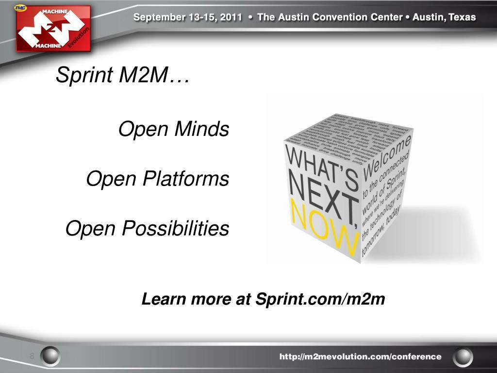 Sprint M2M…