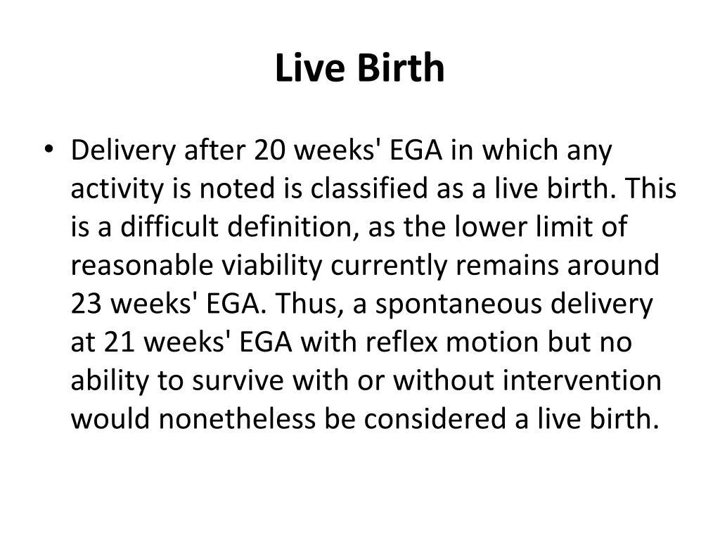 Live Birth