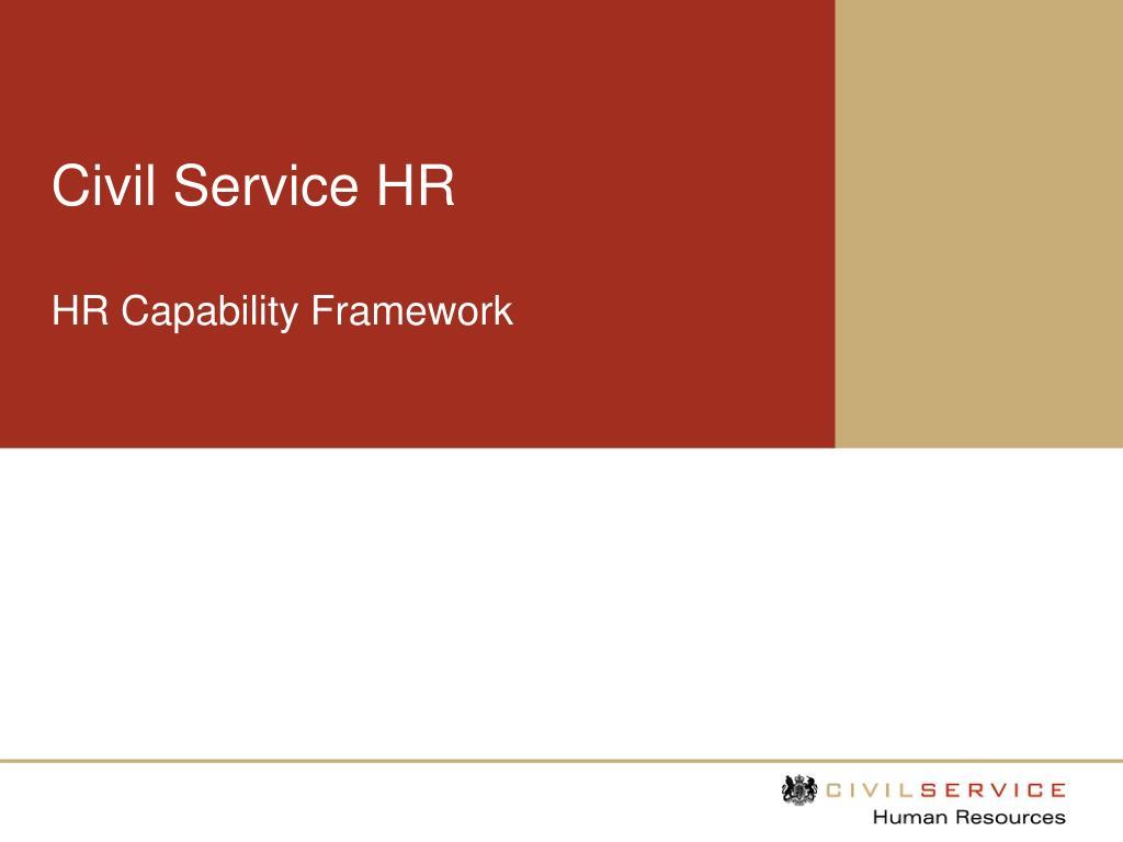 civil service hr l.