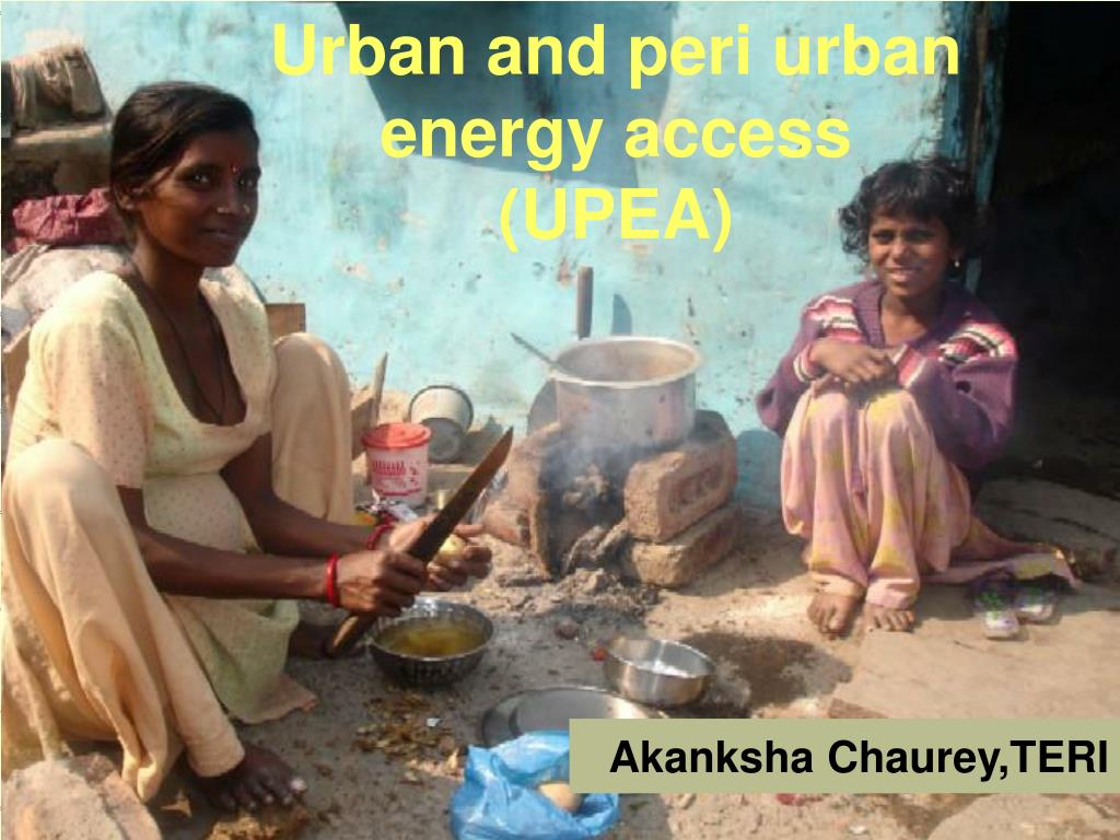 Urban and peri urban energy access