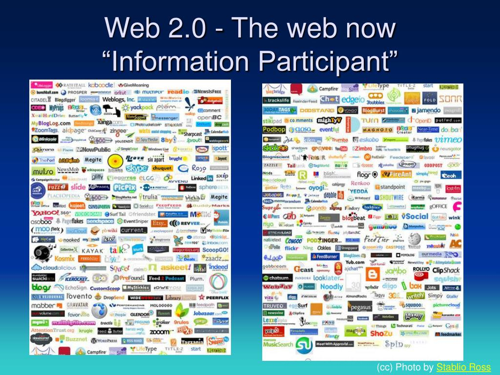 Web 2.0 - The web now