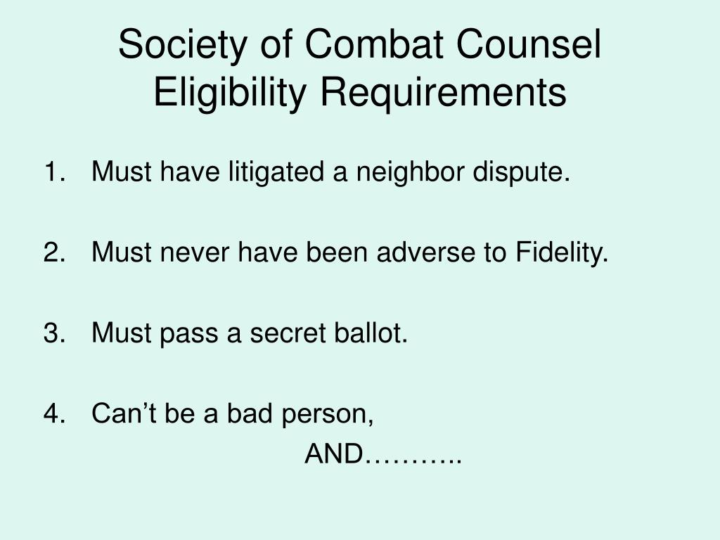 Society of Combat Counsel