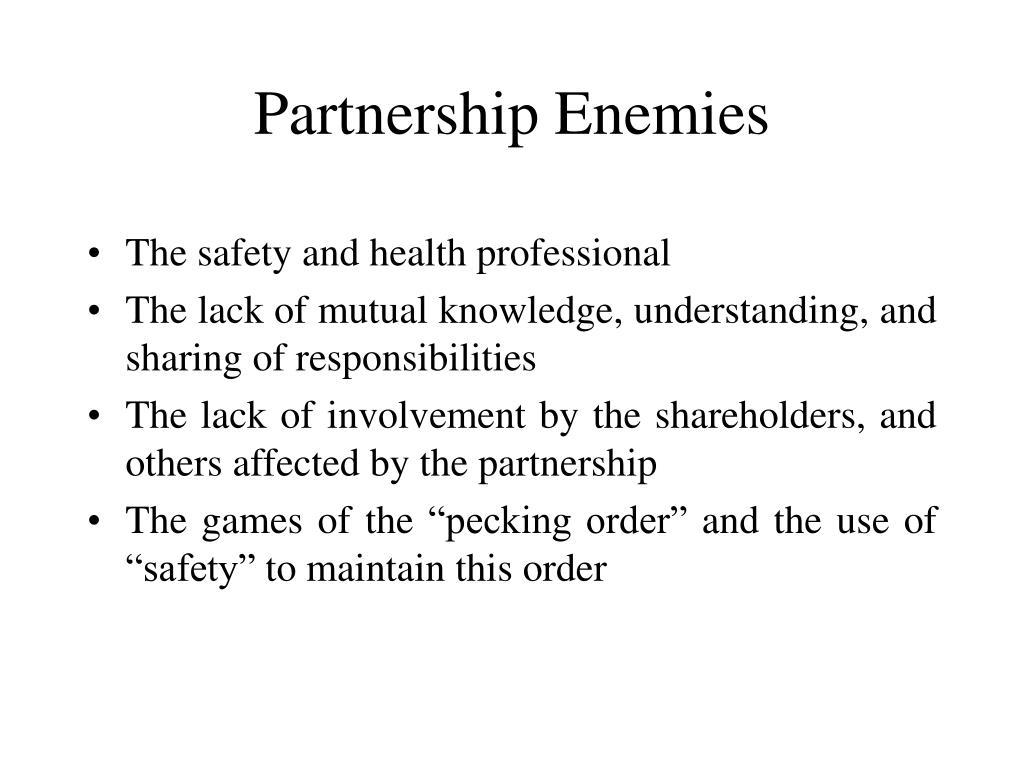 Partnership Enemies