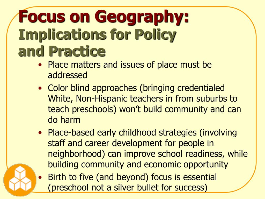 Focus on Geography: