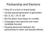 partisanship and elections