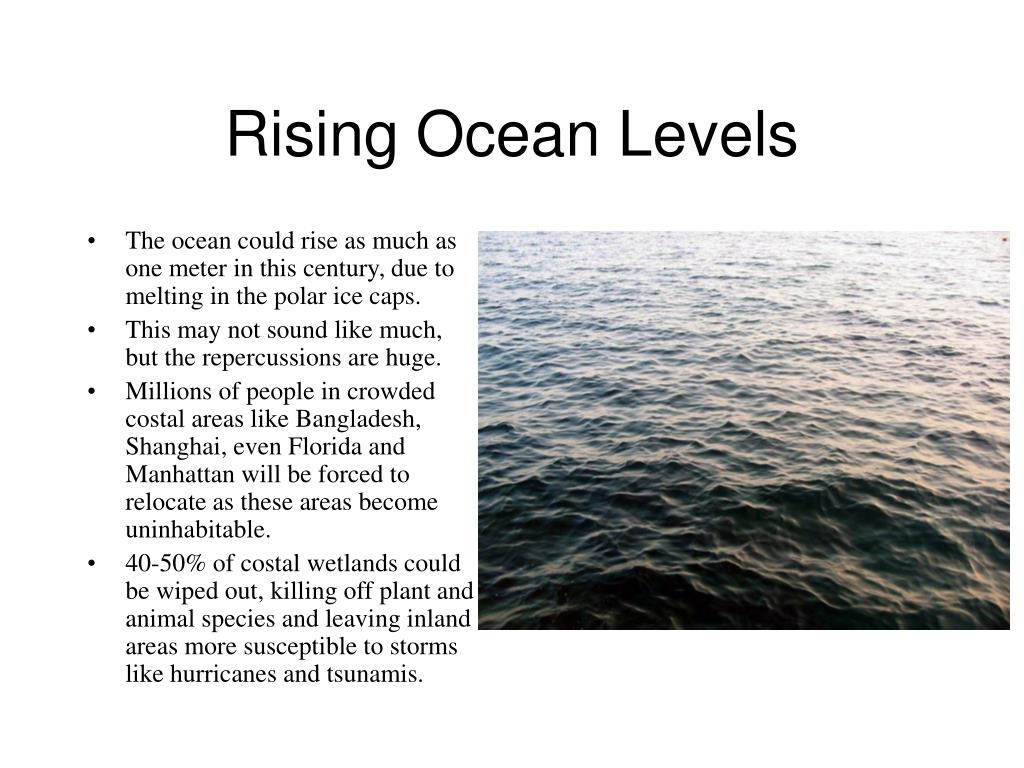 Rising Ocean Levels