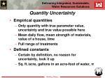 quantity uncertainty15