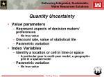 quantity uncertainty17