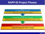 rapp id project phases