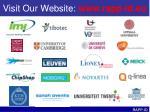 visit our website www rapp id eu