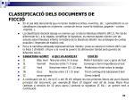 classificaci dels documents de ficci