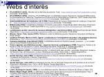 webs d inter s