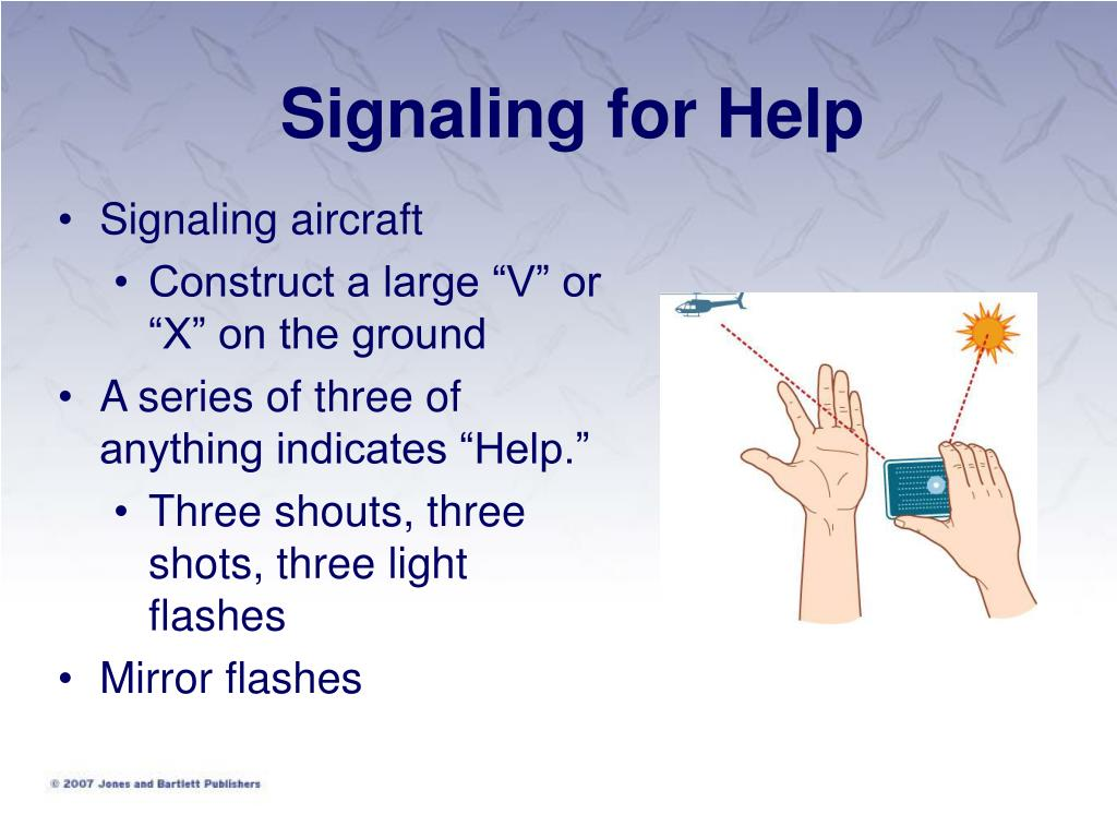Signaling for Help