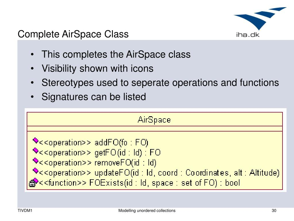 Complete AirSpace Class