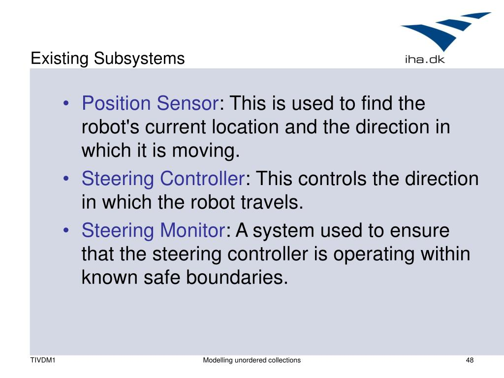 Existing Subsystems