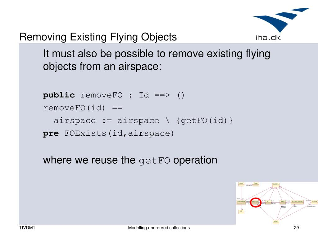 Removing Existing Flying Objects