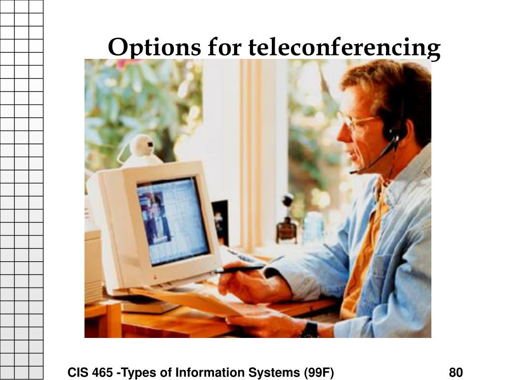 Options for teleconferencing