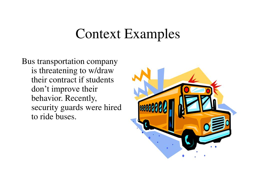 Context Examples