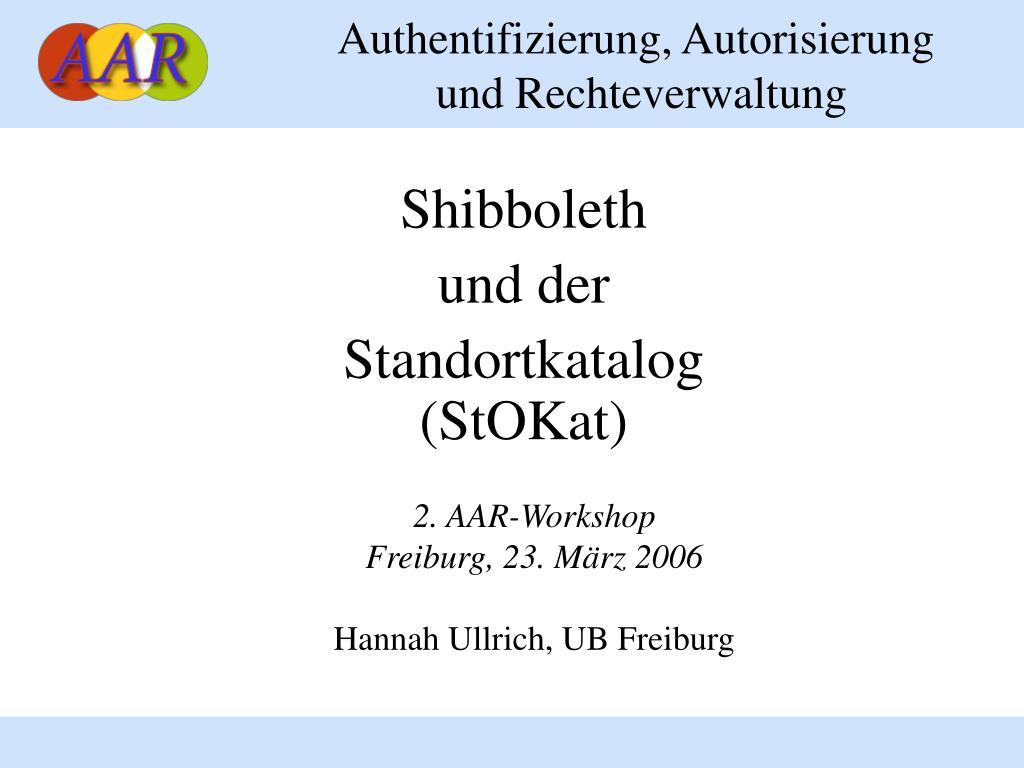 Authentifizierung, Autorisierung