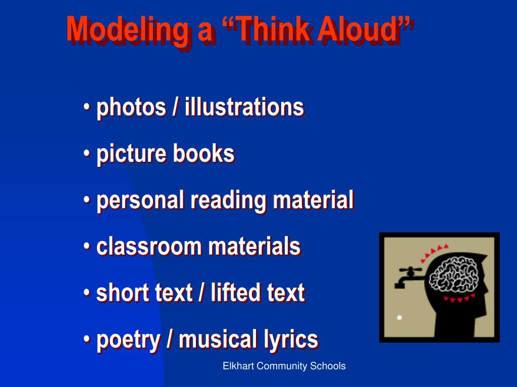 """Modeling a """"Think Aloud"""""""