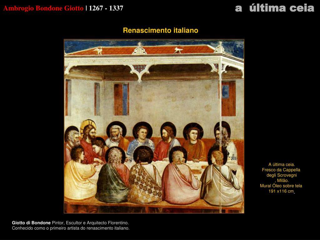 Ambrogio Bondone Giotto