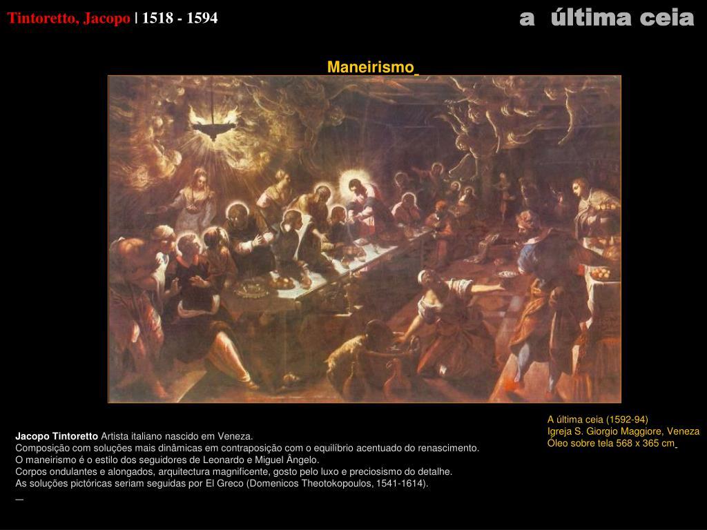Tintoretto, Jacopo
