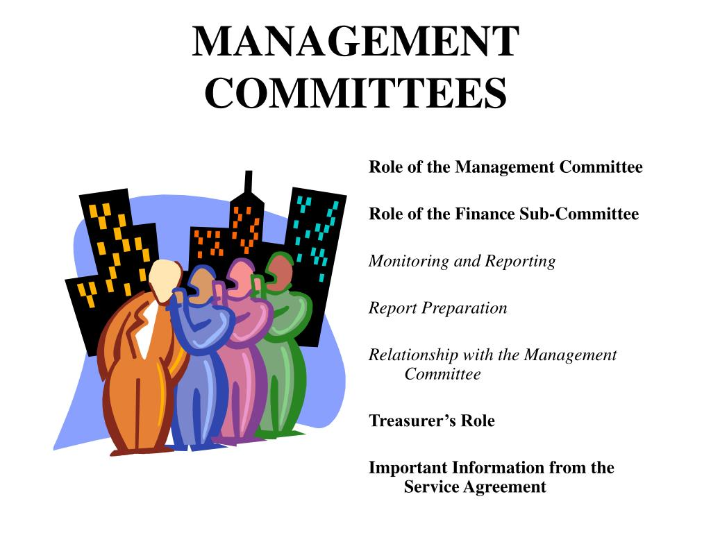 MANAGEMENT COMMITTEES