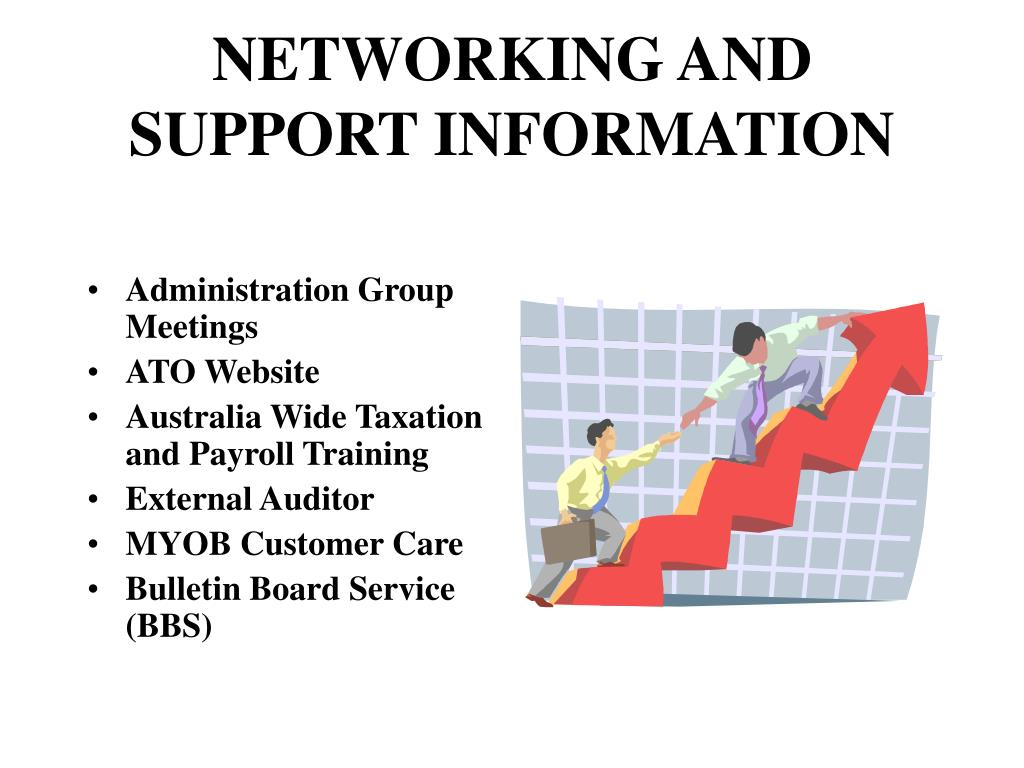 NETWORKING AND SUPPORT INFORMATION