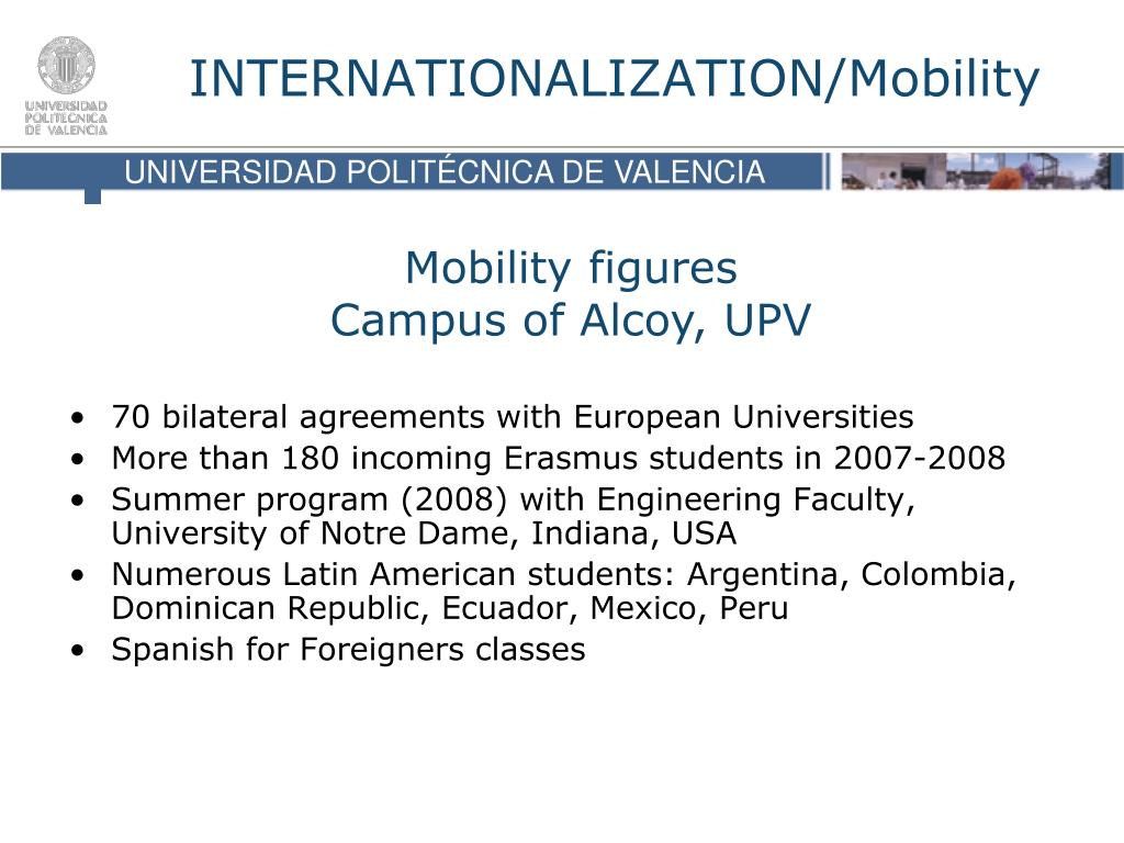 70 bilateral agreements with European Universities