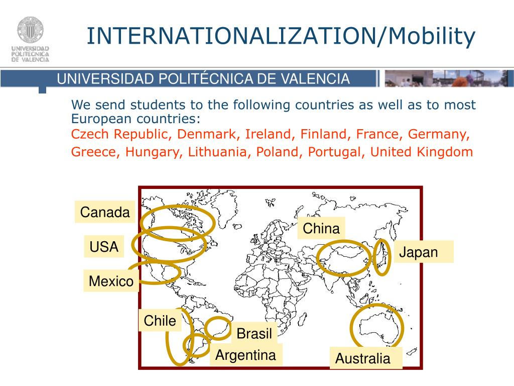 INTERNATIONALIZATION/Mobility