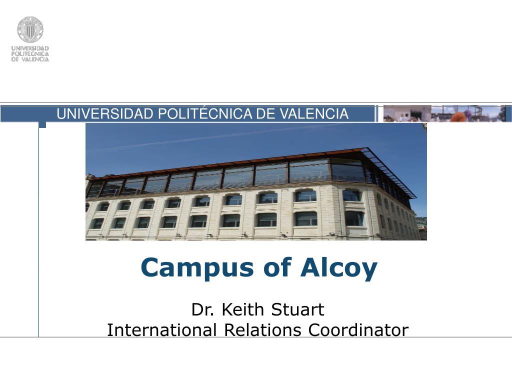 Campus of Alcoy