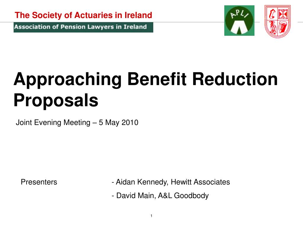 The Society of Actuaries in Ireland