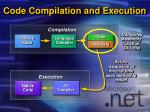 code compilation and execution