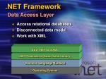 net framework data access layer