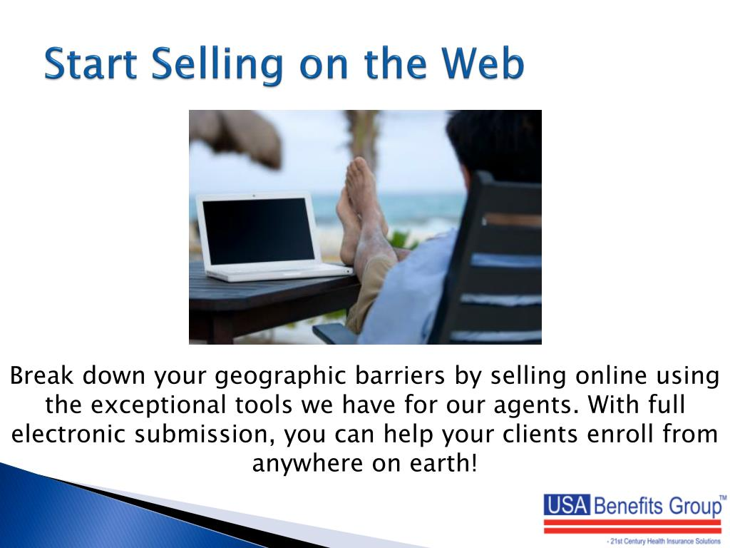 Start Selling on the Web